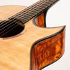 Beauregard Guitars OM Cutaway Acoustic Guitar, Premium 'The Tree' Mahogany & Bearclaw Sitka Spruce