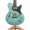Nik Huber Surfmeister Electric Guitar, Custom Green Turquoise
