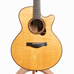 Ed Claxton EM-C, Figured Koa & European Spruce - Pre-Owned