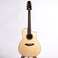 Tippin Forte Cutaway Acoustic Guitar, Amazon Rosewood & Master Swiss Moon Spruce- Pre-Owned