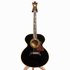 Andy Manson De La Haye Black Rose Acoustic Guitar, American Rock Maple & German Spruce - Pre-Owned