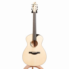 Raymond Kraut 00 Acoustic Guitar, Figured European Maple & Swiss Moon Spruce