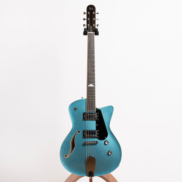 TLL Guitars Deckard Electric Guitar, Light Blue Metallic