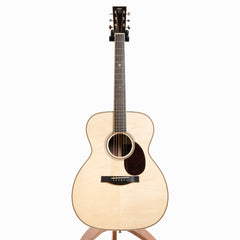 Santa Cruz OM Grand Acoustic Guitar, Indian Rosewood & Bear Claw European Spruce