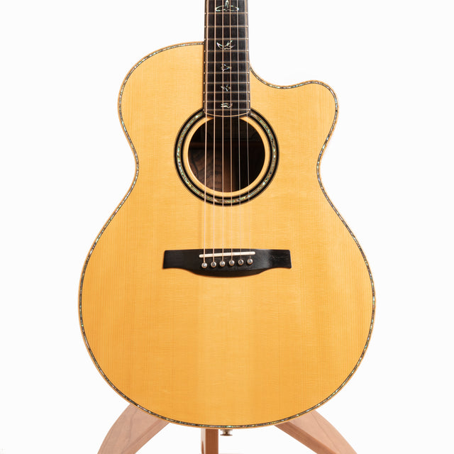 PRS Private Stock Angelus Cutaway Martin Simpson Signature Acoustic Guitar, Cocobolo & Adirondack Spruce - Pre-Owned
