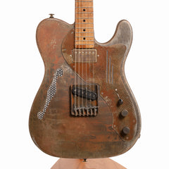 James Trussart Deluxe Steelcaster Electric Guitar, Rust O Matic - Pre-Owned