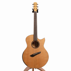 Maestro Original Series Raffles FM CSB CF Acoustic Guitar, Flame Maple & Western Red Cedar