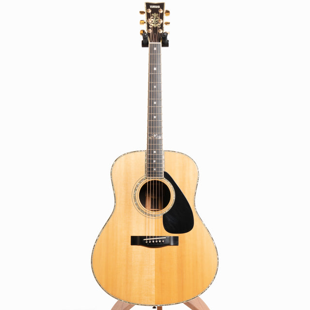 Yamaha L-55 Acoustic Guitar, Brazilian Rosewood & Ezo Spruce - Pre-Owned