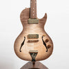 B&G Little Sister Private Build Electric Guitar, Wolf Burst, Kikbuckers, Cutaway #787