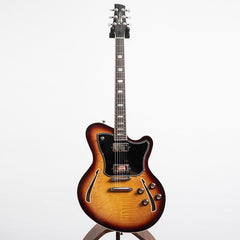 Kauer Guitars Super Chief Electric Guitar, Tobacco Burst