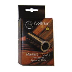 Wolfram Martin Simpson Artist Series Signature Slide - Medium