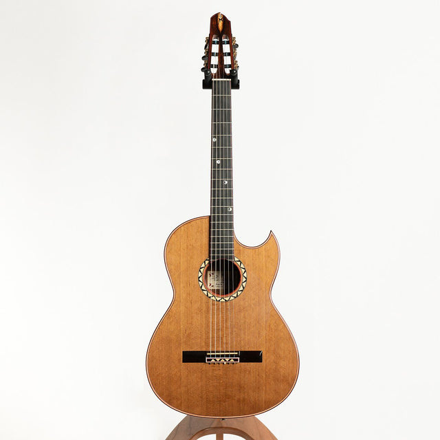Maingard Marc II Earl Klugh Crossover Acoustic Guitar, Brazilian Rosewood & 80 Year Old Italian Cedar - Pre-Owned