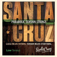 Santa Cruz Parabolic Tension Strings - Low Tension