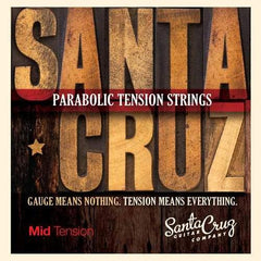 Santa Cruz Parabolic Tension Strings - Mid Tension