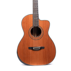 "Bourgeois OMSC Custom Legacy Series ""The Odyssey"" Acoustic Guitar, Brazilian Rosewood & Redwood"