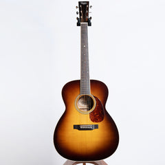 Preston Thompson 0000-JMS Sunburst Acoustic Guitar, Big Leaf Quilted Maple & Sitka Spruce - Pre-Owned