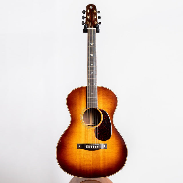 McAlister Concert-12 Acoustic Guitar, Brazilian Rosewood & Old Growth Sitka - Pre-Owned