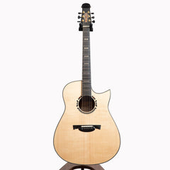 Gaffney Modified Dreadnought Cutaway Acoustic Guitar, Fiddleback Mahogany & Sitka Spruce