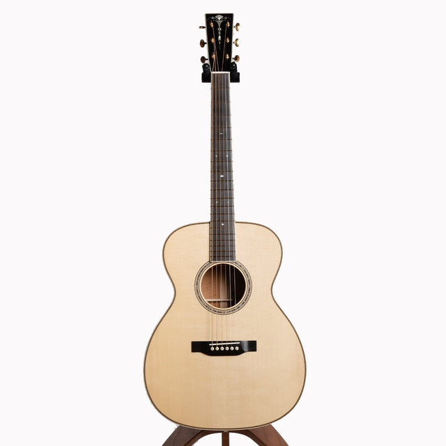 Circa OM Acoustic Guitar, Figured Mahogany & Red Spruce