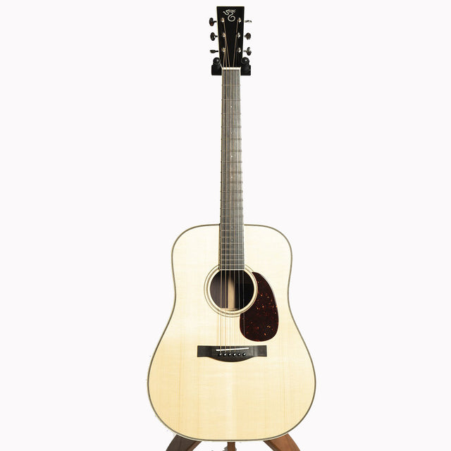 Santa Cruz Custom D Acoustic Guitar, Adirondack Spruce & Indian Rosewood