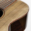 Santa Cruz H13 Custom Acoustic Guitar, 2018 NAMM Special 'The Ghost' African Blackwood & Ancient 3000 Year Old Sitka Spruce