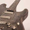 James Trussart Steel O'Matic Electric Guitar, Antique Silver Paisley