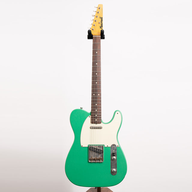 Macmull T-Classic Electric Guitar, Machine Green