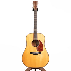 Bourgeois D-LSH Custom Acoustic Guitar, Figured 'Blister Quilt' Mahogany & Aged Tone Adirondack Spruce - Pre-Owned