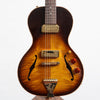 B&G Guitars Little Sister Crossroads Non Cutaway Electric Guitar, #179 Tobacco Burst