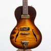 B&G Guitars Little Sister Crossroads Non Cutaway Electric Guitar, #028 Tobacco Burst - Left Handed