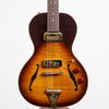 B&G Guitars Little Sister Crossroads Non Cutaway Electric Guitar, #250 Tobacco Burst