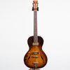 B&G Guitars Little Sister Crossroads Non Cutaway Electric Guitar, #215 Tobacco Burst - Left Handed