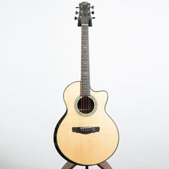 Ryan Nightingale Grand Soloist Acoustic Guitar, Striped Macassar Ebony & Sitka Spruce