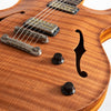 Nik Huber Rietbergen Adam Miller Signature Electric Guitar, Natural Finish