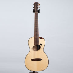"Baranik Retreux Parlour Deluxe ""E-Type"" Acoustic Guitar, Figured European Maple w/ Brazilian Rosewood & Adirondack Spruce"