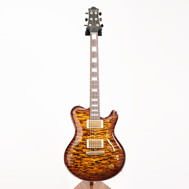 Nik Huber Dolphin II Electric Guitar, Quilted Maple