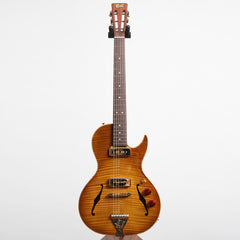 B&G Guitars Little Sister Crossroads 5A Cutaway Electric Guitar, #175 Honey Burst