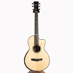 Ryan Abbey Grand Parlour Acoustic Guitar, Madagascar Rosewood & Adirondack Spruce - Pre-Owned