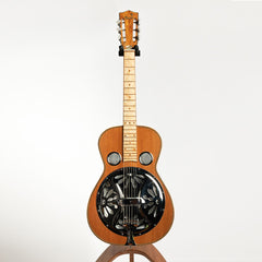 Benoit MR-58 Square Neck Resonator Guitar, Curly Hard Maple & Redwood - Pre-Owned