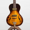 B&G Guitars Little Sister Crossroads Non Cutaway Electric Guitar, Tobacco Burst - Left Handed #382