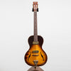 B&G Guitars Little Sister Crossroads Non Cutaway Electric Guitar, Tobacco Burst - Left Handed