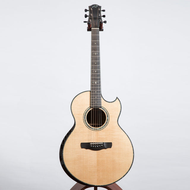 Ryan Nightingale Grand Soloist Acoustic Guitar, Master Grade Walnut & Sitka Spruce