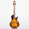 B&G Guitars Little Sister Crossroads Cutaway Electric Guitar, Tobacco Burst #163