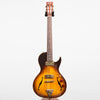 B&G Guitars Little Sister Crossroads Cutaway Electric Guitar, Tobacco Burst #053