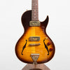 B&G Guitars Little Sister Crossroads Cutaway Electric Guitar, Tobacco Burst #061
