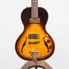 B&G Guitars Little Sister Crossroads Non Cutaway Electric Guitar, Tobacco Burst #338