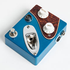 CopperSound Strategy Boost Guitar Effects Pedal, Blue