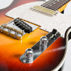 Red Rocket Classic Deluxe Atomic Electric Guitar, Three-Colour Sunburst