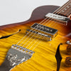 B&G Step Sister Private Build Electric Guitar #029, Tobacco Burst, Kikbuckers, Cutaway