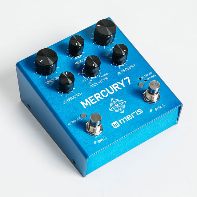 Meris Mercury7 Reverb Guitar Effects Pedal